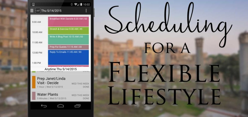 Simply Goals & Tasks | Scheduling for a Flexible Lifestyle
