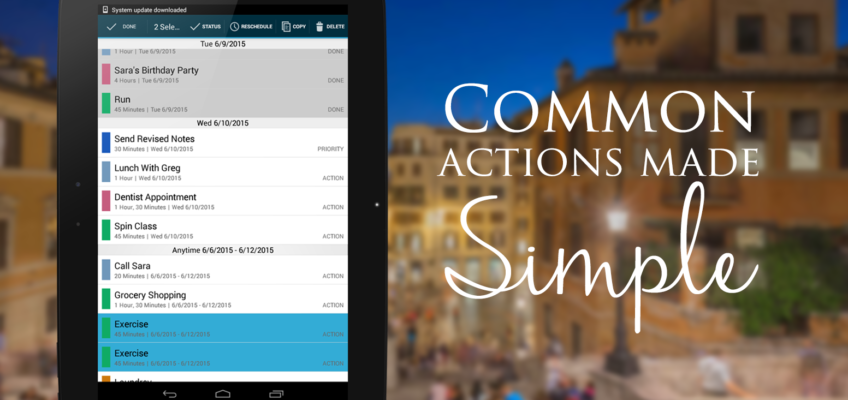 Simply Digital Makes Common Actions Simple