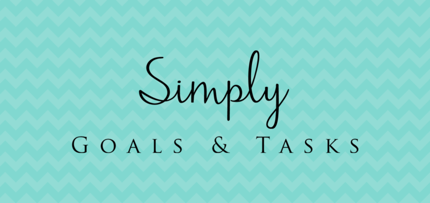 Simply Goals & Tasks