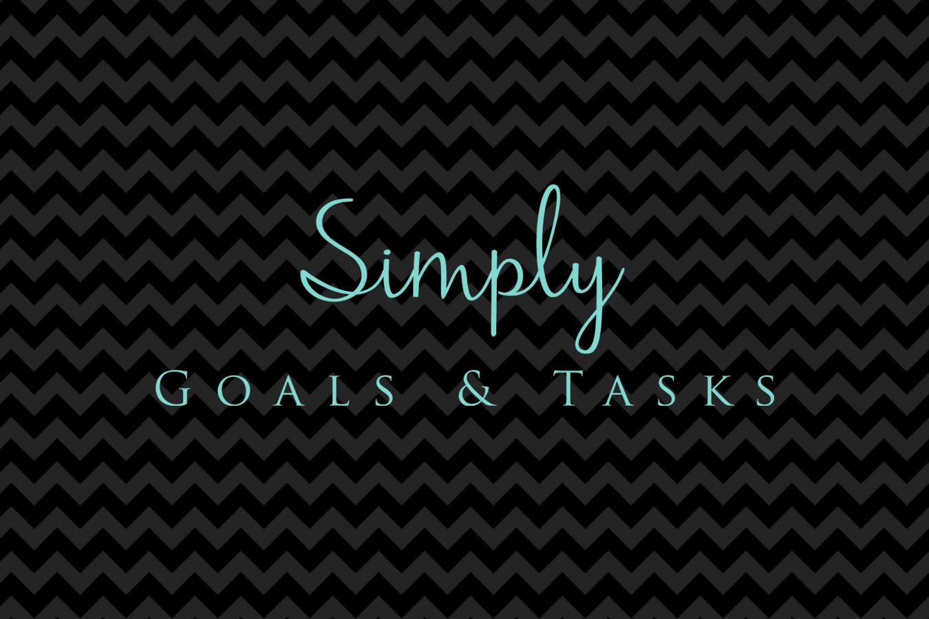 Simply Goals & Tasks